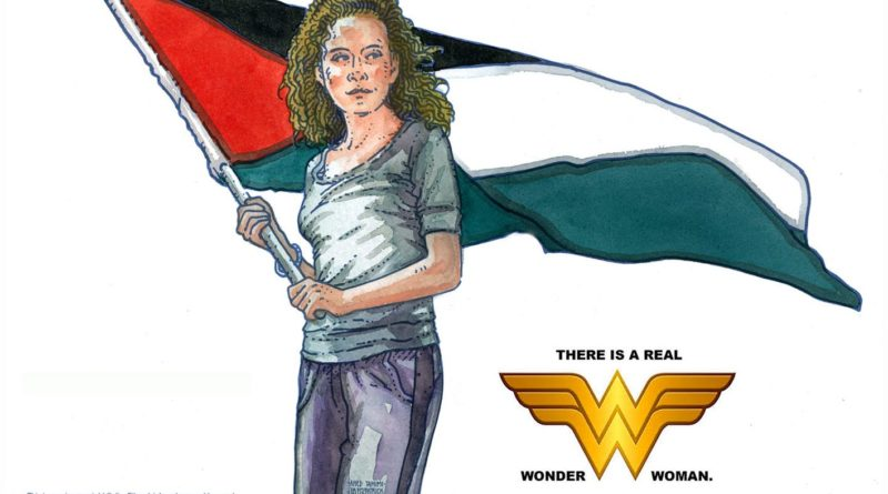 palestina wonder woman